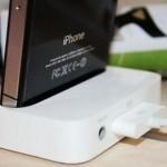 iPod/iPhone用のドック(充電スタンド)を購入